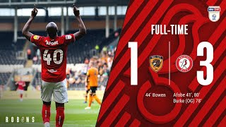 Highlights: Hull City 1 3 Bristol City