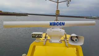 今回は、ゆうか丸のレーダーを交換してみました❗   kODEN MD-3642 4Kw 4...
