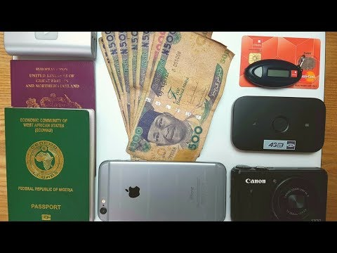 MY NIGERIA TRAVEL ESSENTIALS ✈ | NIGERIAN TRAVEL VLOG 04
