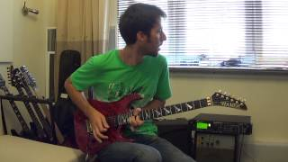Dream Theater - The Best Of Times Guitar Solo Cover (John Petrucci Guitar Solo)