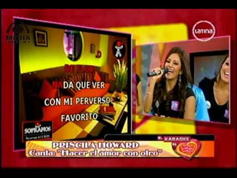 Priscila Howard en el Karaoke de AAA edit.flv