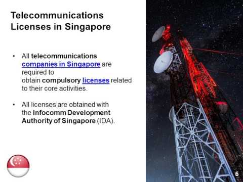 How to Start a Telecommunications Business in Singapore