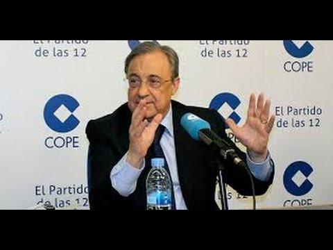 Entrevista completa de Florentino Perez en el Partido de las 12 | COPE