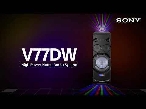 Sony MHC-V77DW - High Power Home Audio System