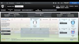 Football Manager 2013   |EP 15|   -- Linee Guida Per L'Allenamento--