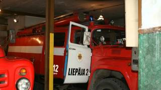 New Liepaja Fire Station And Soviet Union Era Equipment