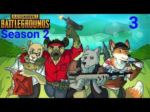 NLSS Crew Games: PLAYERUNKNOWNS BATTLEGROUNDS Season 2 Part 3!