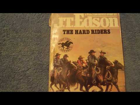 THE HARD RIDERS  JTEDSON  BOOK REVIEW #23  NO SPOILERS