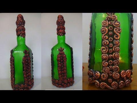 DIY Bottle Craft / Bottle Decoration Ideas