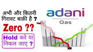 why adani total gas falling || adani gas share target  || adani gas share analysis