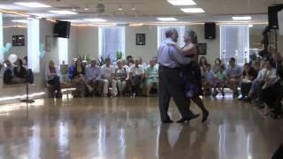 Kathy & Carl Foxtrot/Swing 04-30-17 -- Dance Studio Lioudmila Showcase