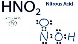 hno2 lewis structure how to draw the lewis structure for nitrous acid