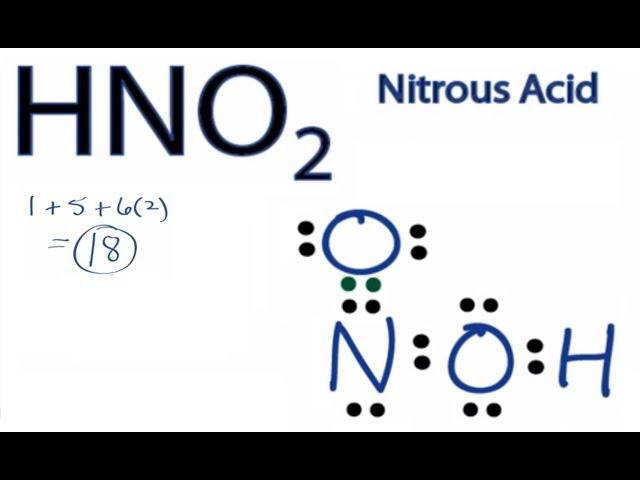 Lewis Dot Diagram For Hno2 Circuit Connection Diagram