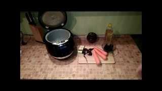Домашние видео рецепты - овощная закуска из моркови в мультиварке