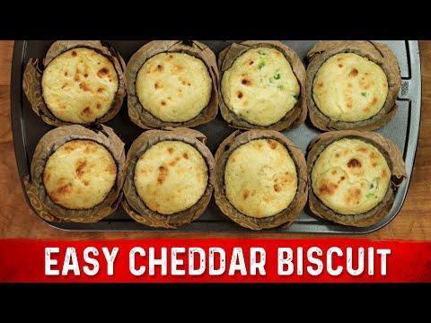 Cheddar Biscuit Recipe: Low Carb, No Gluten & No Grains!