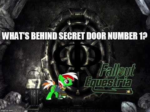 Fallout Equestria RPG - To the Secret Stable Phi?