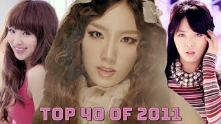 My Top 40 KPop Songs of 2011