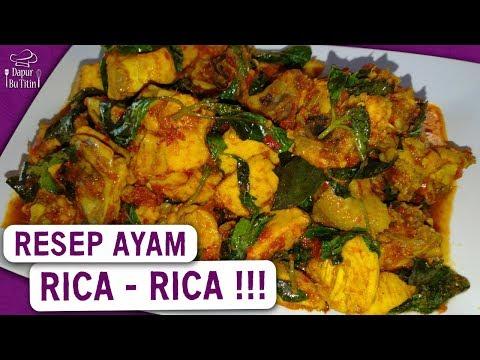 Resep Ayam Rica Rica Yang Enak Youtube