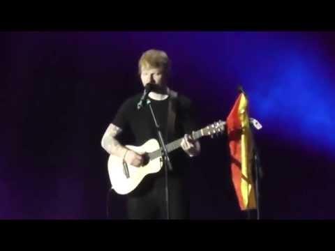 10/16 Ed Sheeran - Afire Love (Live @ O2 World, Hamburg, 06.11.2014)