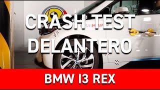 Crash Test Delantero BMW I3 REX - Vehículo eléctrico