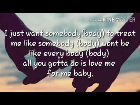 Treat Me Like Somebody - Tinklyrics