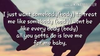 Treat Me Like Somebody - Tink  lyrics