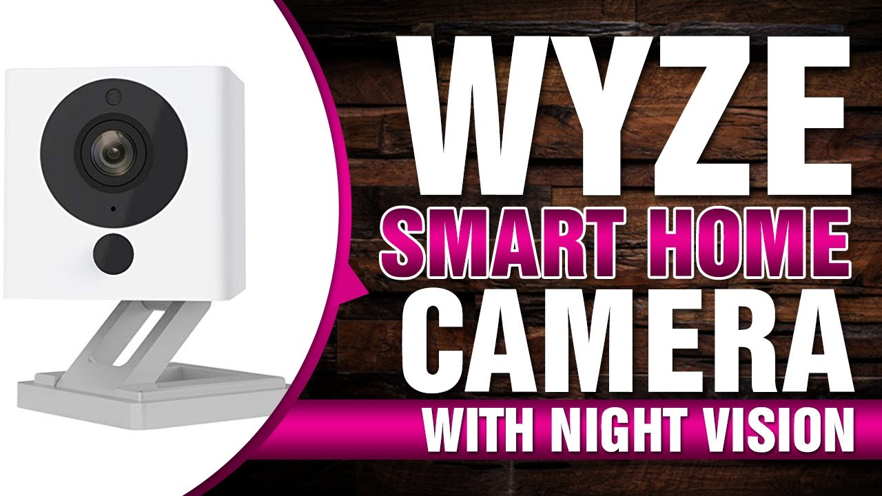 2-Way... Wyze Cam 1080p HD Indoor Wireless Smart Home Camera with Night Vision