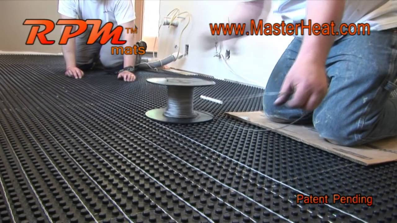 In floor heating radiant heating rpm do it yourself youtube in floor heating radiant heating rpm do it yourself solutioingenieria Image collections
