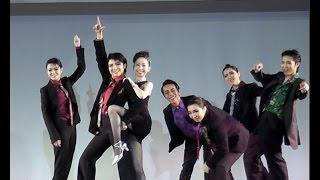 友人たちと宝塚歌劇団の真似やってみました。 冒頭部分のみうp ニコニ...