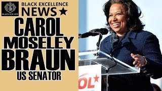 BlackExcellist News: Carol Moseley Braun - 1st African American Female Senator
