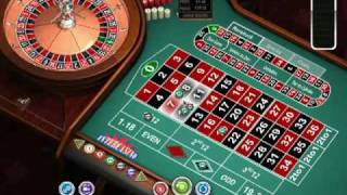 European Roulette at Intercasino