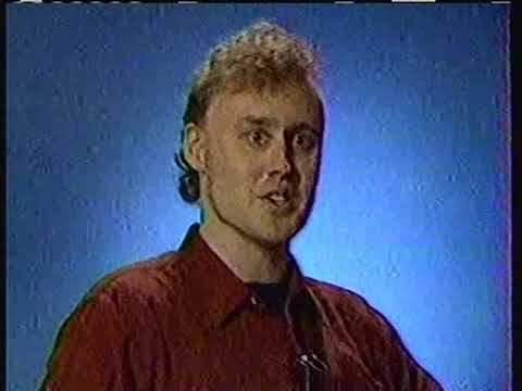 1987 Bruce Hornsby interview clips