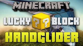Minecraft LUCKY BLOCK HANGLIDERS #1 with Vikkstar, BajanCanadian, Bodil & Simon