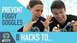 8 Hacks To Prevent Foggy Goggles | Swimming Tips For Triathlon