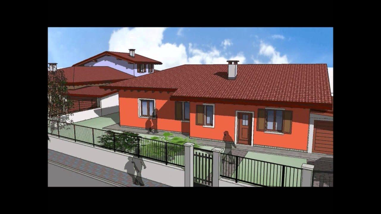 Villa e villini monopiano di nuova costruzione a for Piani di costruzione casa moderna