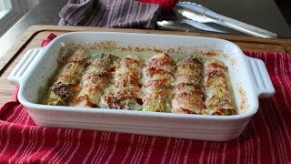 Pancetta-Wrapped Leek Gratin Recipe - How to Make Leek Gratin