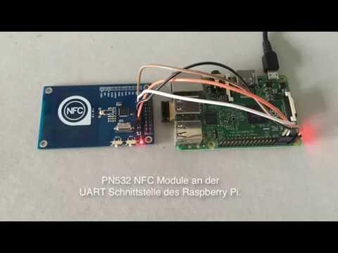 PN532 NFC Modul an Raspberry Pi - YouTube