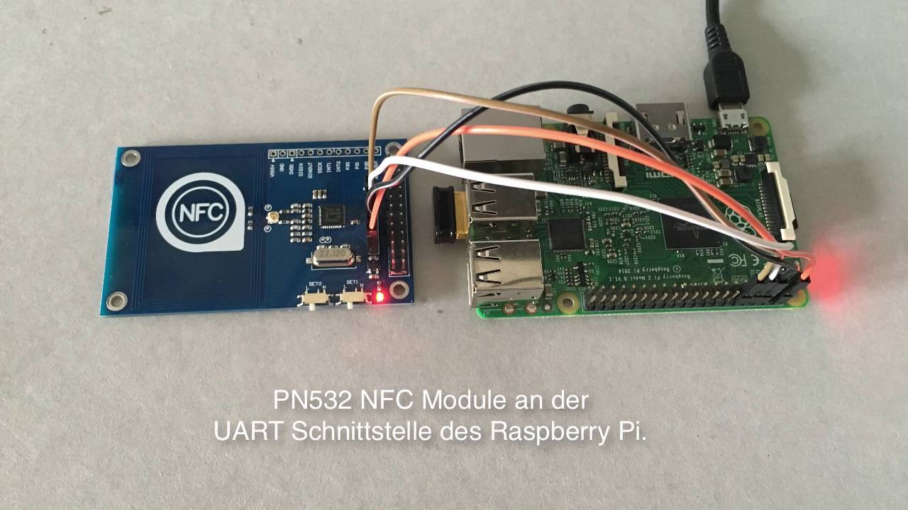 PN532 NFC Modul an Raspberry Pi