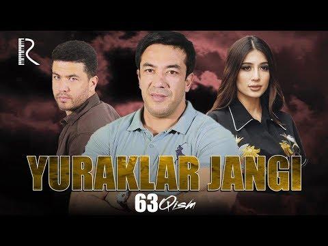Yuraklar Jangi (o'zbek Serial) | Юраклар жанги (узбек сериал) 63-qism #UydaQoling