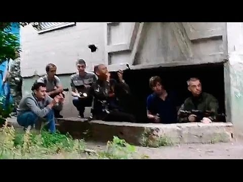 Луганск. Выстрел в