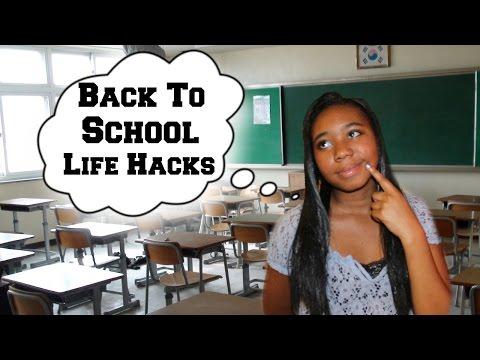 Back To School Tips + Life hacks