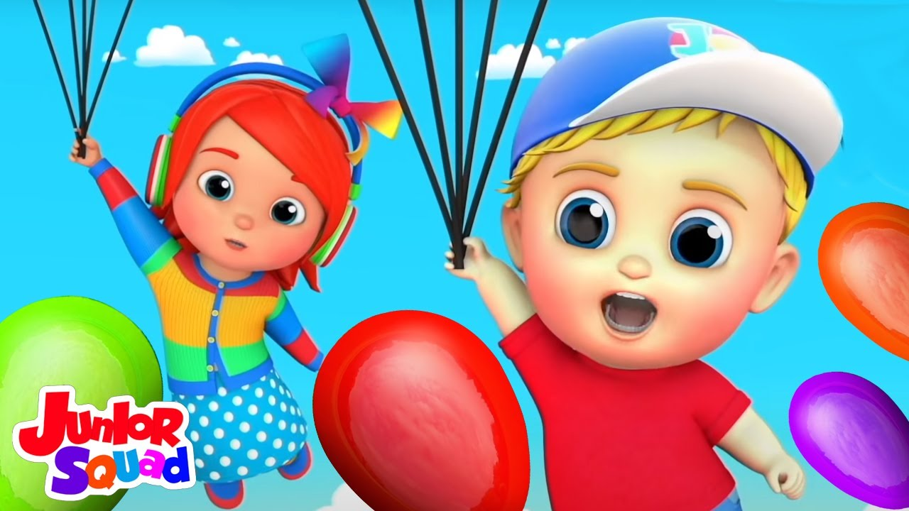 Balon lagu | Puisi untuk anak | Video edukasi anak| Junior Squad Indonesia | Bayi sajak