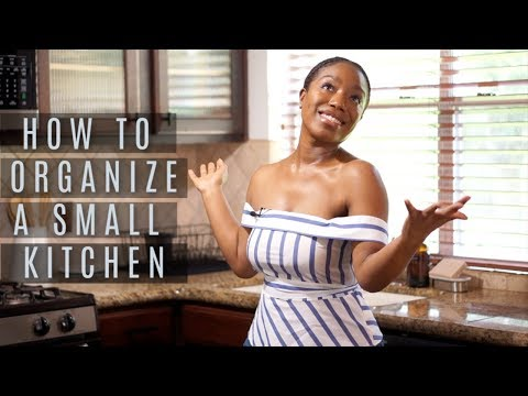 How to Organize a SMALL Kitchen | Rescue My Space