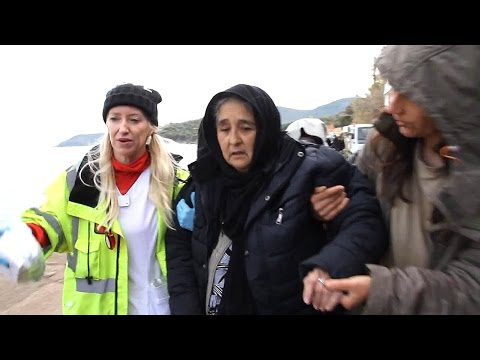 Women with Asthma - Lesbos Greece - Syrian Refugees
