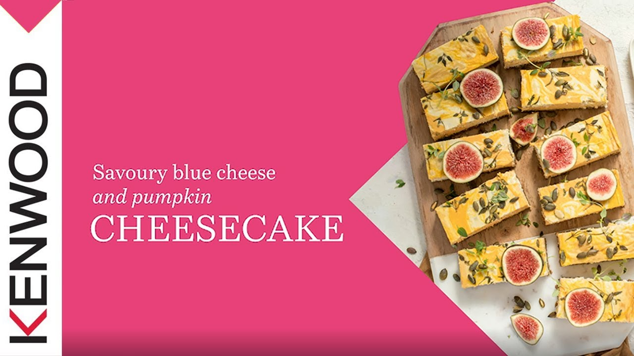 Savoury Blue Cheese And Pumpkin Cheesecake Made With The Chef Xl Titanium K Beater Youtube