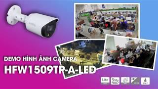 Demo Hình Ảnh Camera HDCVI Full Color 1509TP-A-LED