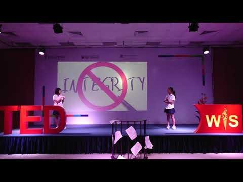 """TEDwis chủ đề """"Integrity"""" - WISHer Lê Hoàng Lan & Ahn Se Eun (6A7)"""