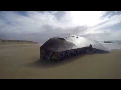 Cap Ferret peninsula and WW2 bunkers on the beaches [Arcachon part 2]