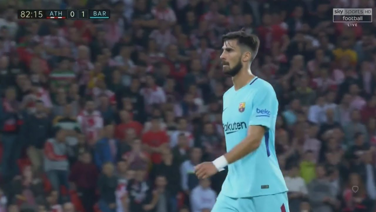 André Gomes Vs Athletic Club - English Commentary