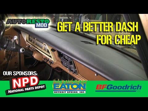How To Install A Dash Top Dash Cap 295 Autorestomod